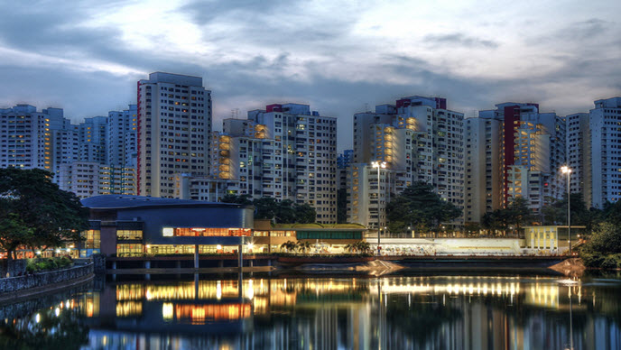 Phoenix Residences Located at Bukit Panjang Town Next to Phoenix Walk by OKP Holdings