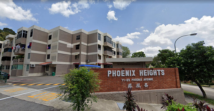 Phoenix Residences Former Phoenix Heights Enbloc at Bukit Panjang by OKP Holdings