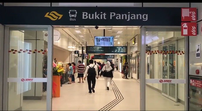 Bukit Panjang MRT Station Located Near to Phoenix Residences by OKP Holdings